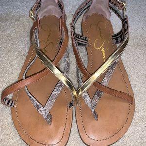 Women's Size 8.5 Strappy Sandal